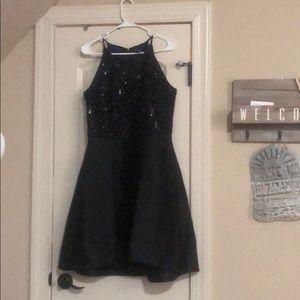 Size 8 Taylor black dress